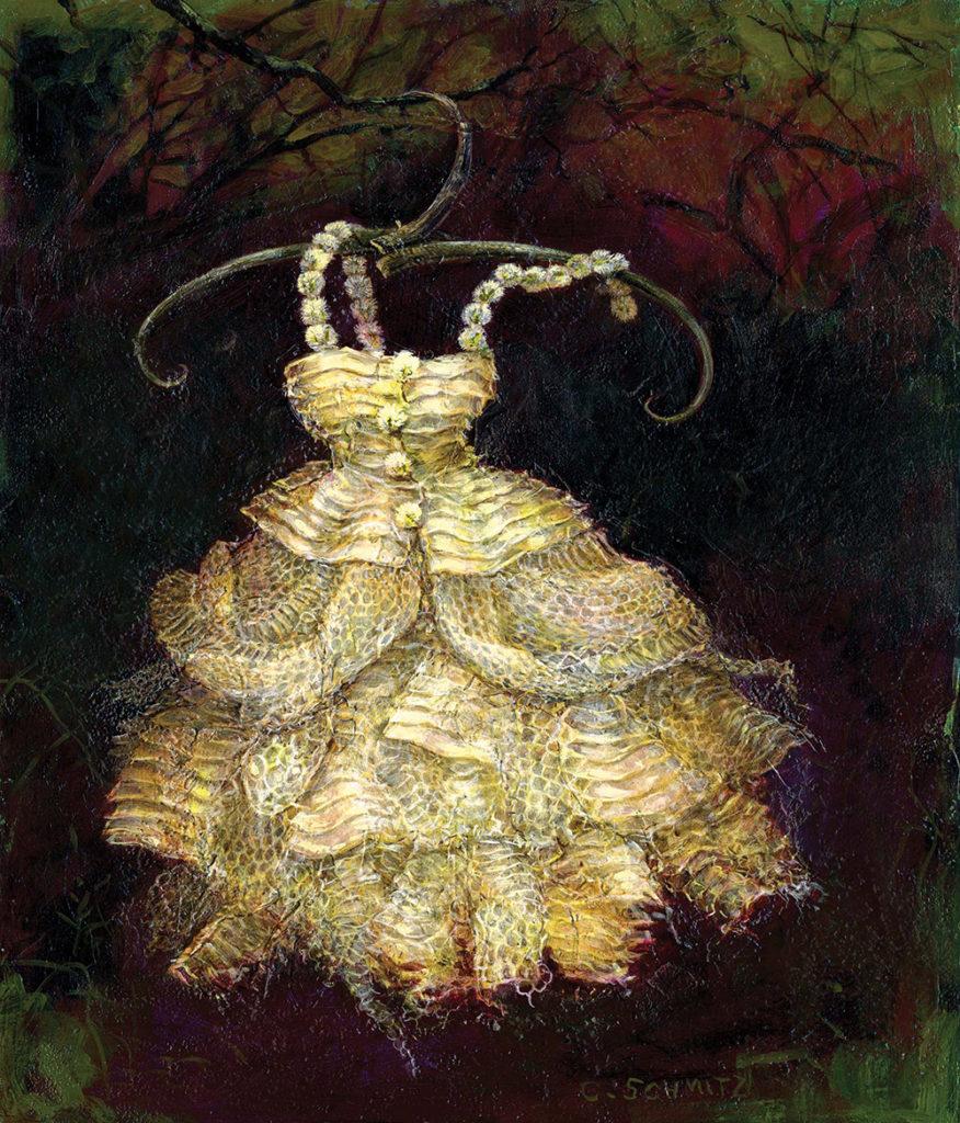Tiny Snakeskin Dress