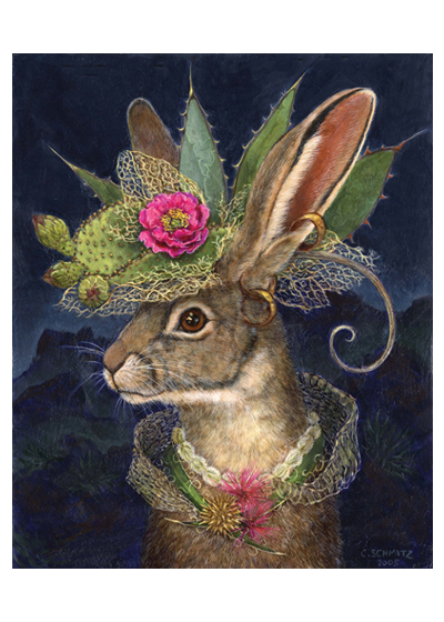Jackrabbit in Fantastic Hat