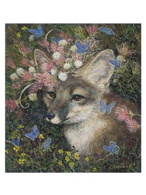 Fox in Plumes