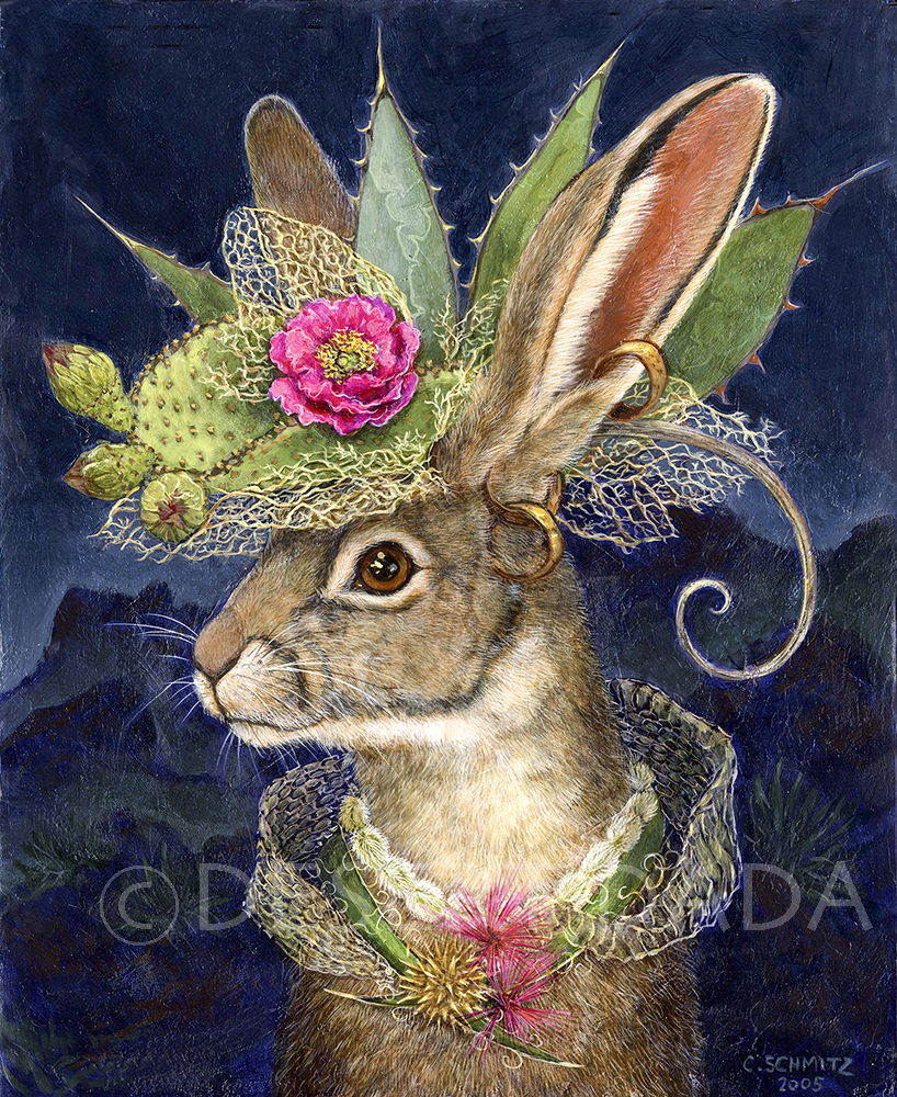 Jackrabbit in Fantastic Hat_P