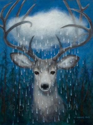 Forest Rain Print